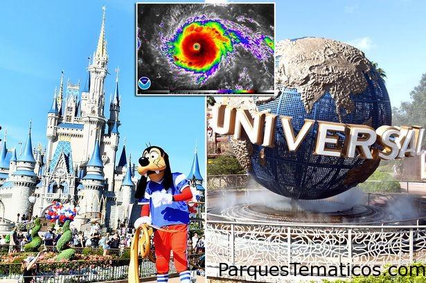 Parques temáticos cerrados hoy domingo y mañana lunes por el Huracán Irma