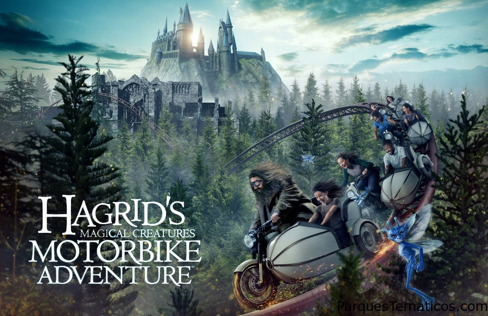 Hagrid's Magical Creatures Motorbike Adventure, en Wizarding World of Harry Potter el 13 de junio 2019