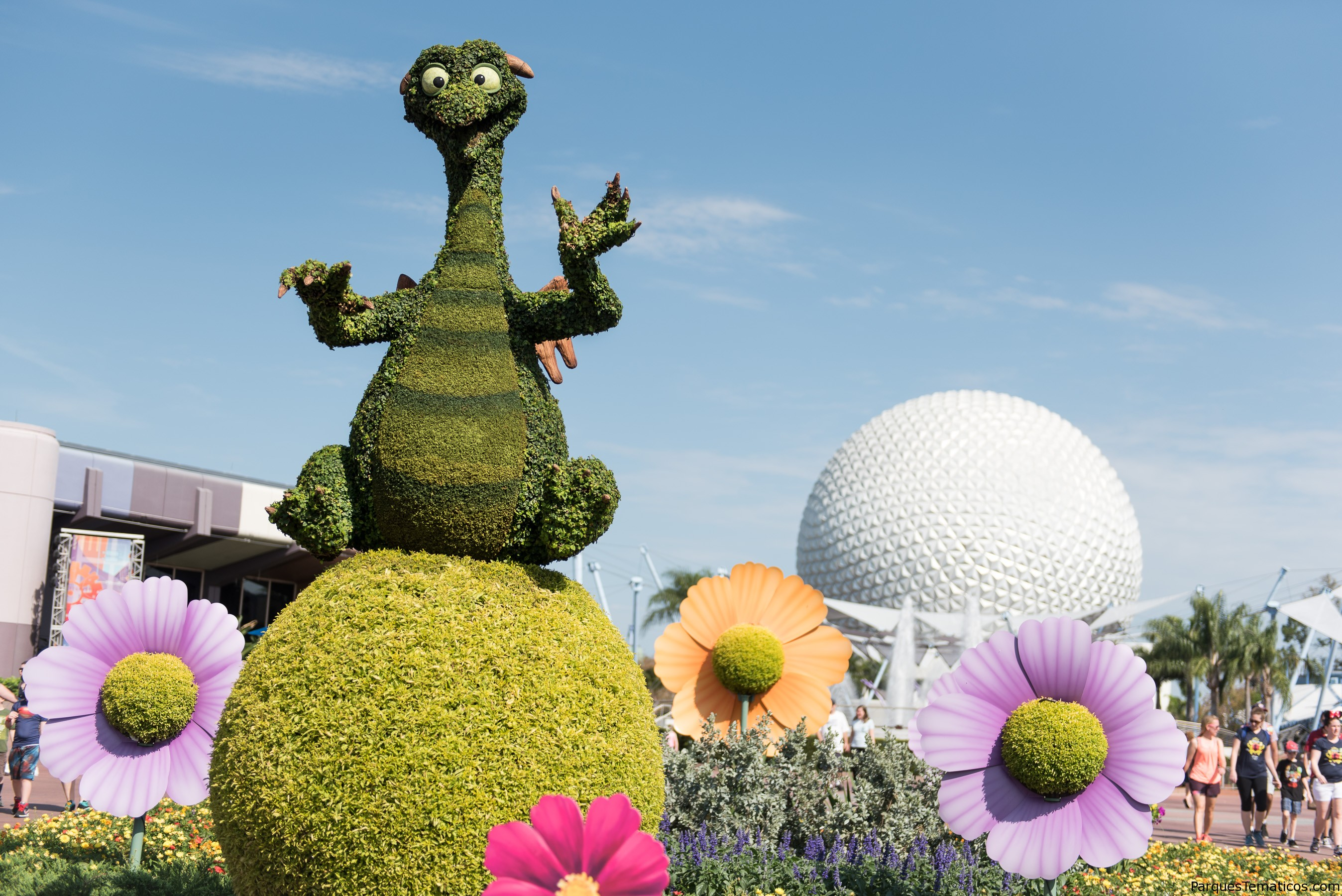 Epcot International Flower & Garden Festival 2019