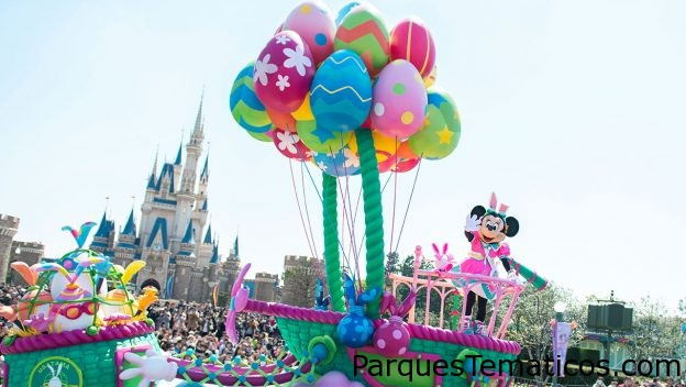 Disney's Easter Takes Over Both Parks at Tokyo Disney Resort